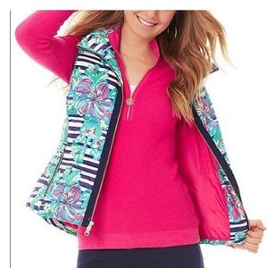 Lilly Pulitzer Paradiso Puffer Vest
